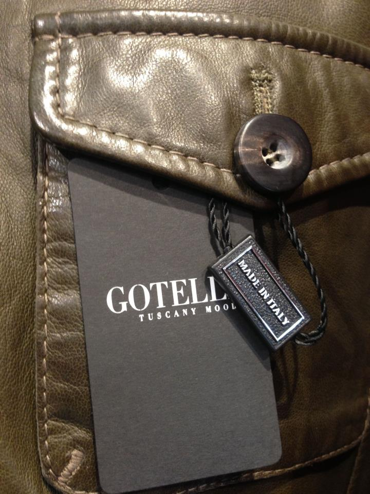 Dettagli giacca in pelle