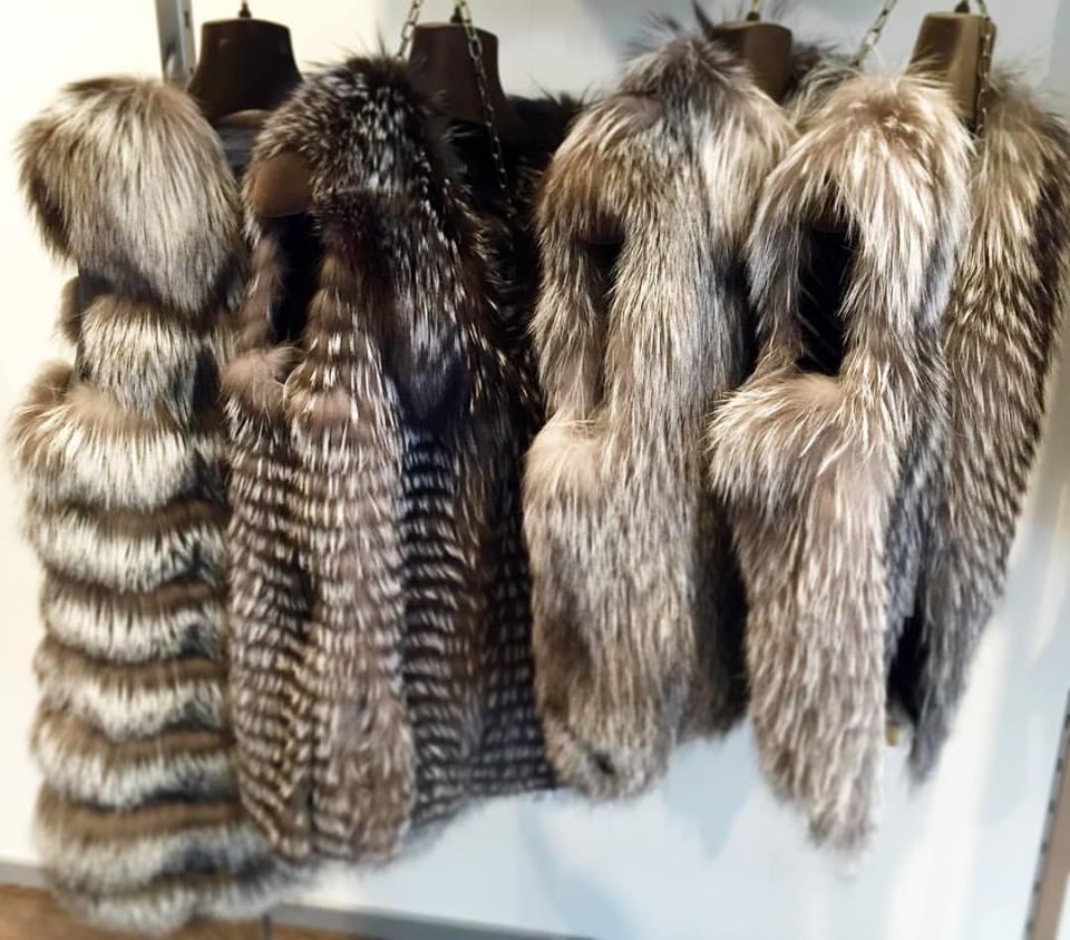 Gilé in pelliccia di volpe
